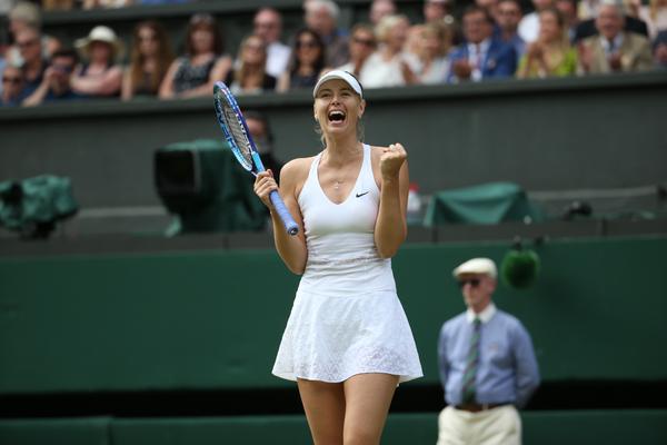 Шарапова вышла в полуфинал Уимблдона! «Ты должна показать всё лучшее в большом матче на большом турнире»