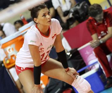 Лидер сборной Польши — Катажина Сковронска-Долата