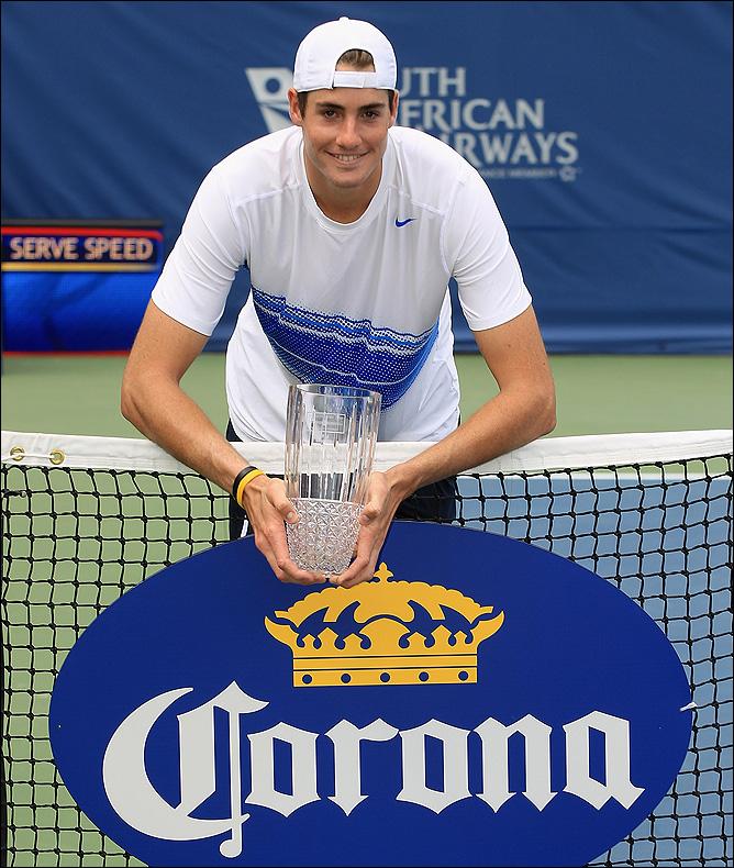 Джон завоевал второй титул в США.