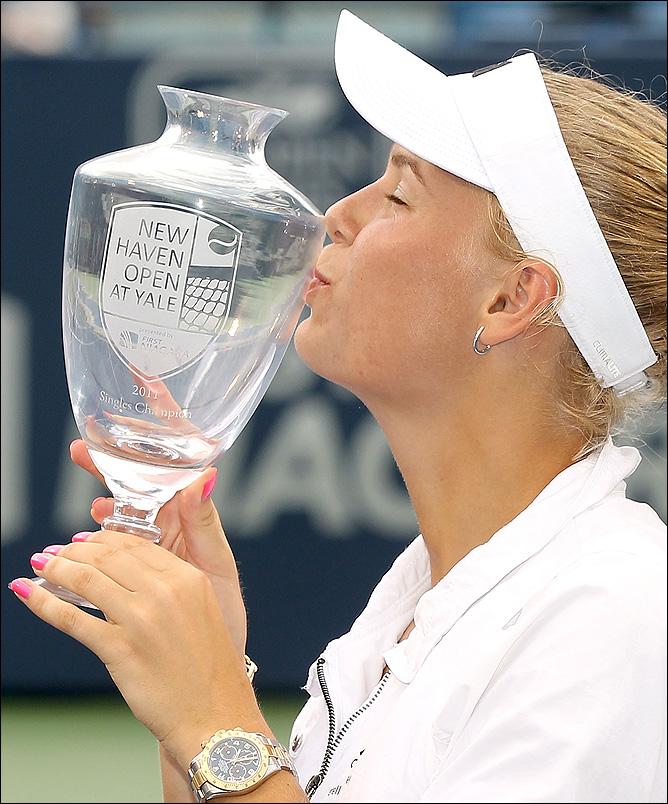 Каролина в четвёртый раз подряд победила перед US Open.