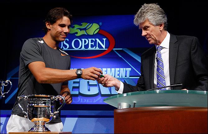 Рафаэль принял участие в жеребьёвке основных сеток US Open.