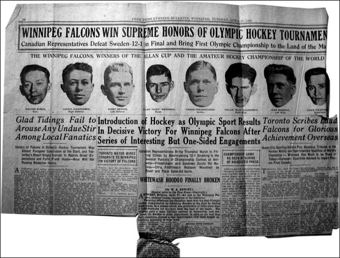 Топ-100 историй ИИХФ. История № 21. Дебют хоккея на ОИ-1920. Фото 02.