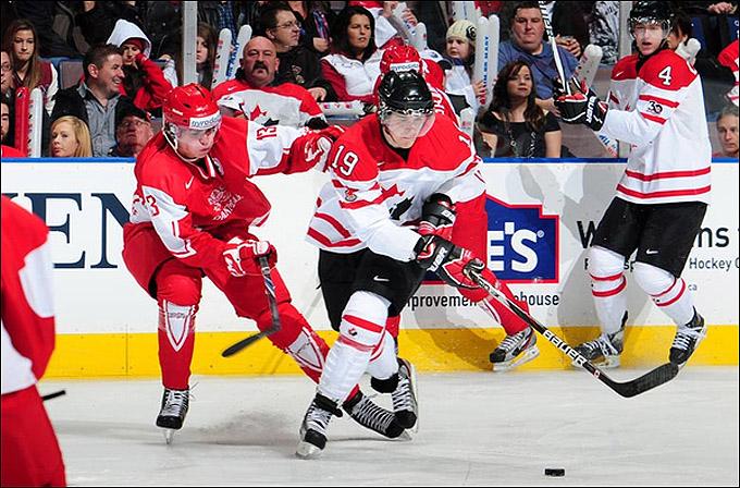 29 декабря 2011 года. Эдмонтон. Молодежный чемпионат мира. Дания – Канада – 2:10.