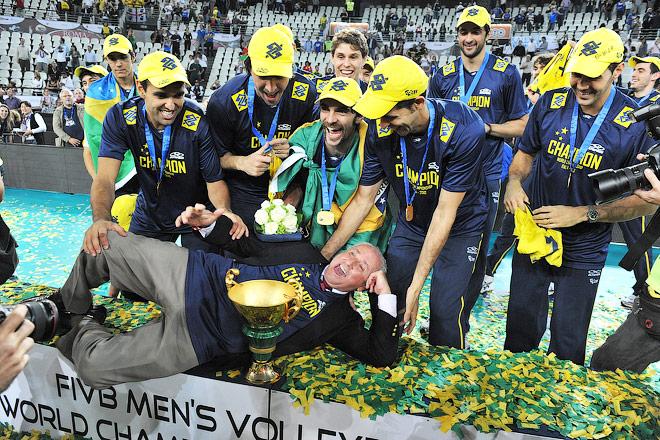 В 2010 сборная Бразилии в третий раз стала лучшей на чемпионате мира