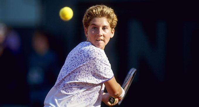 Моника Селеш. 1991 год
