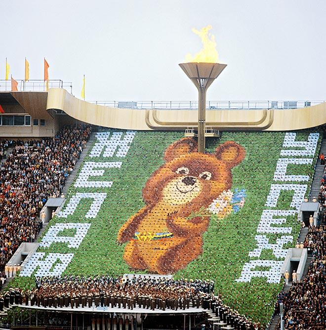 Талисман москвоской Олимпиады