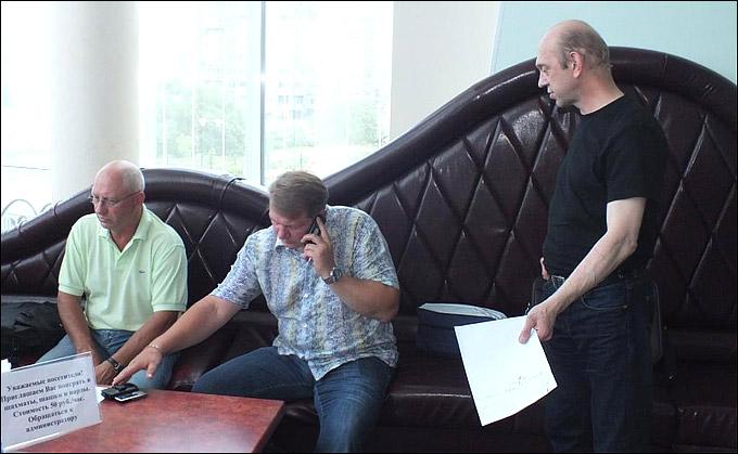 Николай Давыдкин, Андрей Яковенко и Анатолий Федотов