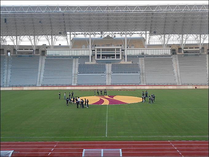 Республиканский стадион имени Тофика Бахрамова в Баку