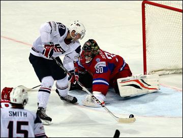 Илья Брызгалов на чемпионате мира-2013