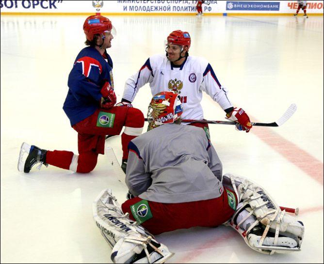 26 апреля 2011 года. Новогорск. Открытая тренировка сборной России
