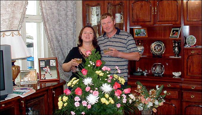 Виктор Королев с супругой