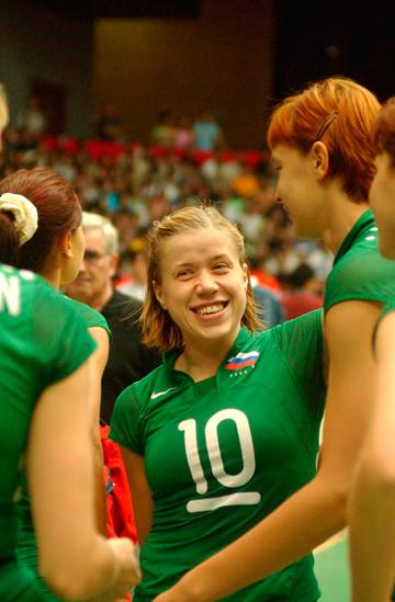 Елена Василевская – капитан сборной России в конце 90-х – начале 2000х гг.