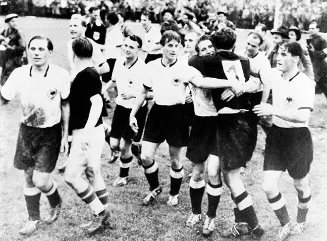Венгрия — ФРГ — 2:3. ЧМ-1954. Финал