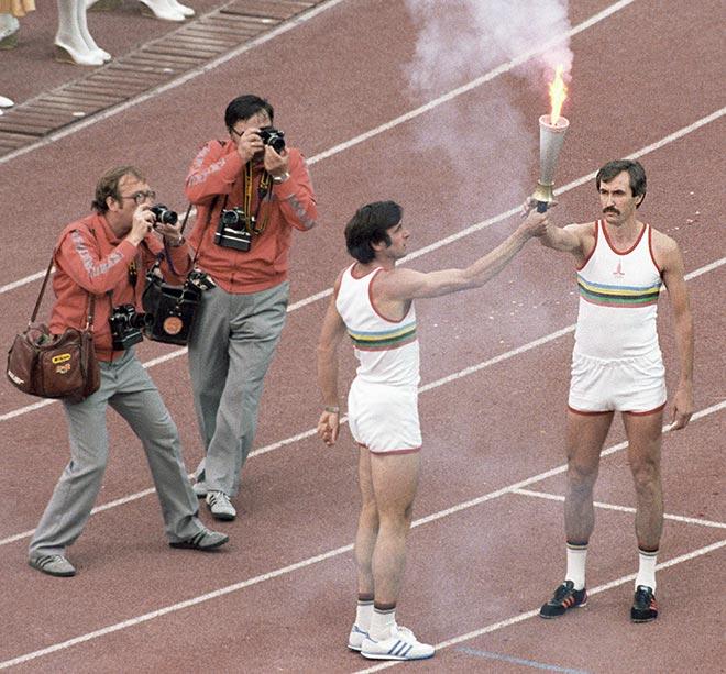Открытие московской Олимпиады