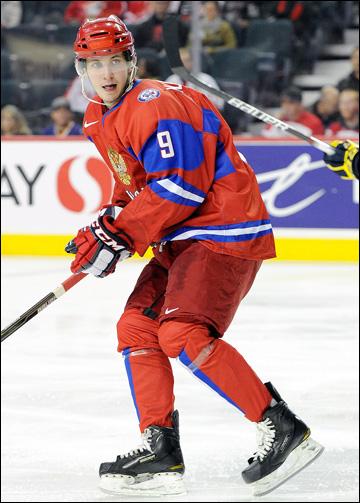 Никита Кучеров в молодёжной сборной России