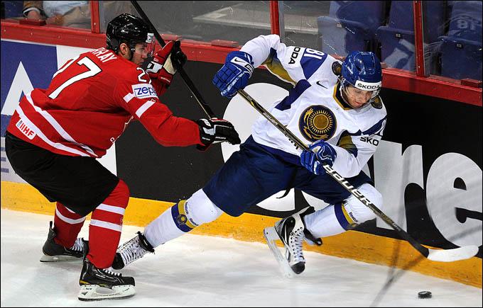 12 мая 2012 года. Хельсинки. Чемпионат мира. Групповой турнир. Казахстан — Канада — 0:8