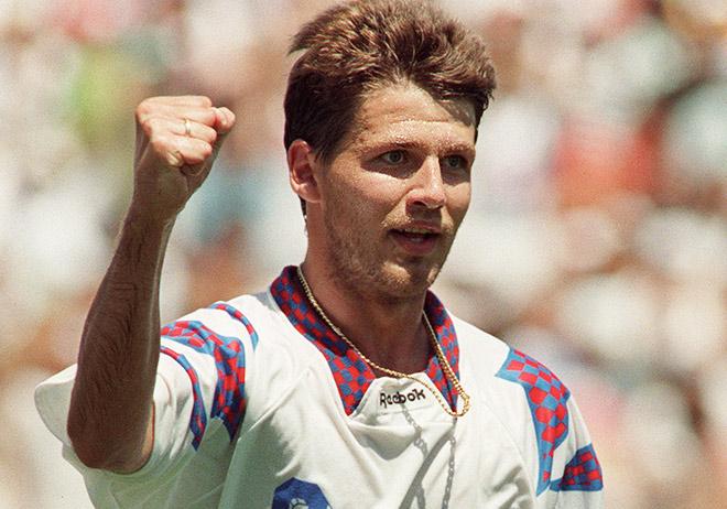 Олег Саленко поделил с Христо Стоичковым приз лучшего бомбардира чемпионата мира-1994