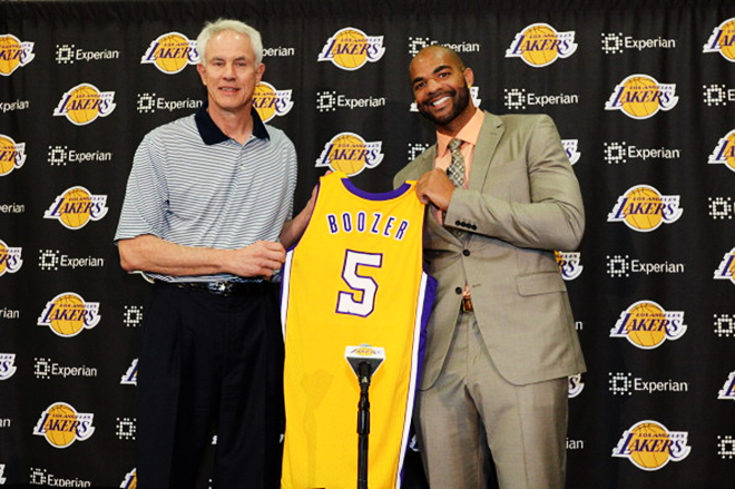 Карлос Бузер стал игроком «Лос-Анджелес Лейкерс»