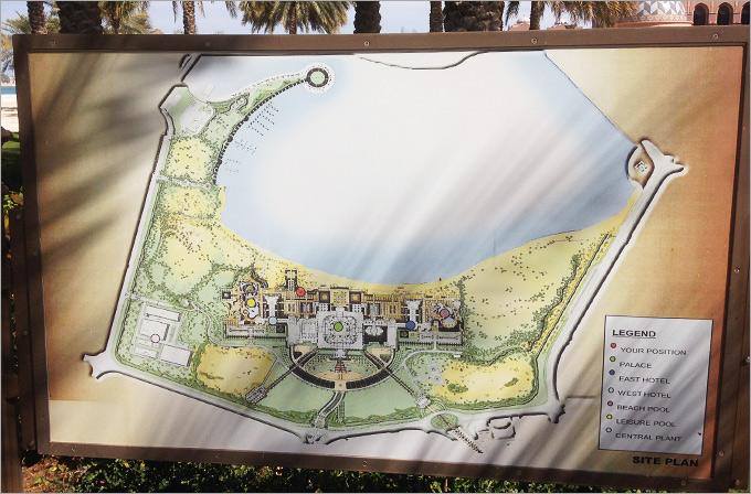 В саду обнаружен секретный план дворца и прилегающих территорий