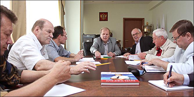 Рабочее совещание руководства Федерации хоккея