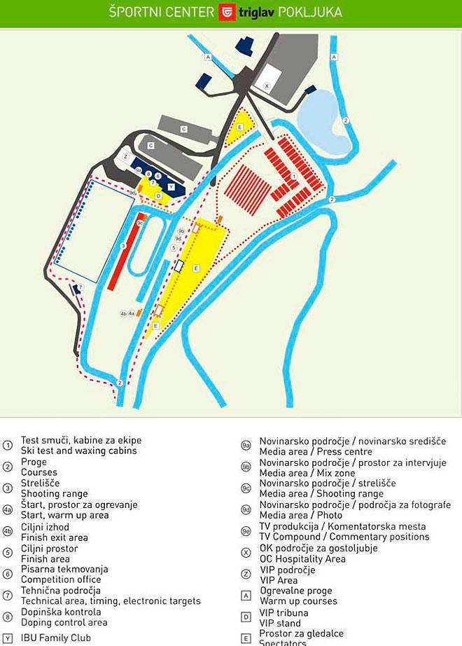 Схема трассы в Поклюке