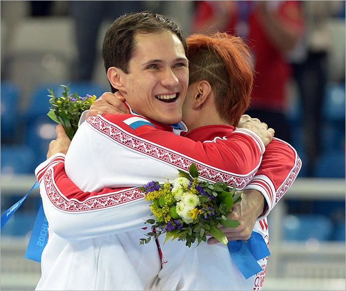 Подиум Ана и Григорьева
