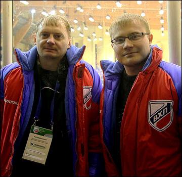 Виталий Тимофеев и Владислав Рожков