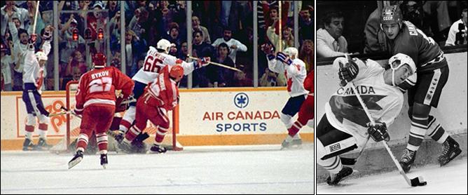 Топ-100 историй ИИХФ. История № 20. Кубок Канады-1987. Фото 01.
