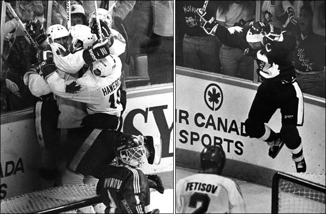 Топ-100 историй ИИХФ. История № 20. Кубок Канады-1987. Фото 02.