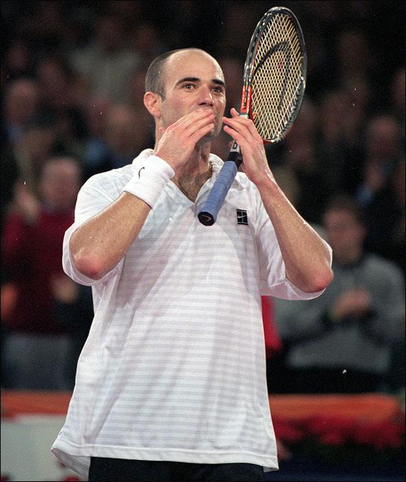 Андре Агасси поставил рекорд по количеству снятий с Итоговых турниров ATP.