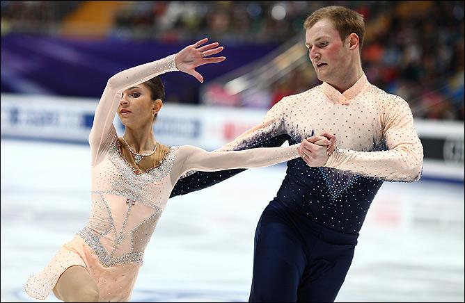 Вера Базарова и Юрий Ларионов. От волнения никуда не деться