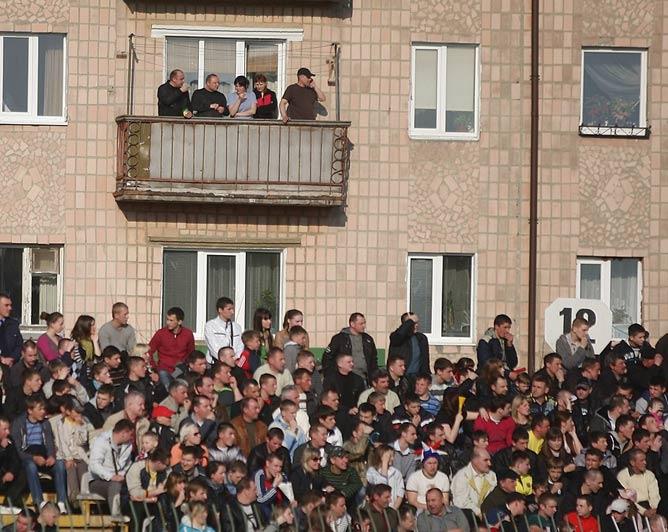 Самый знаменитый балкон Луцка