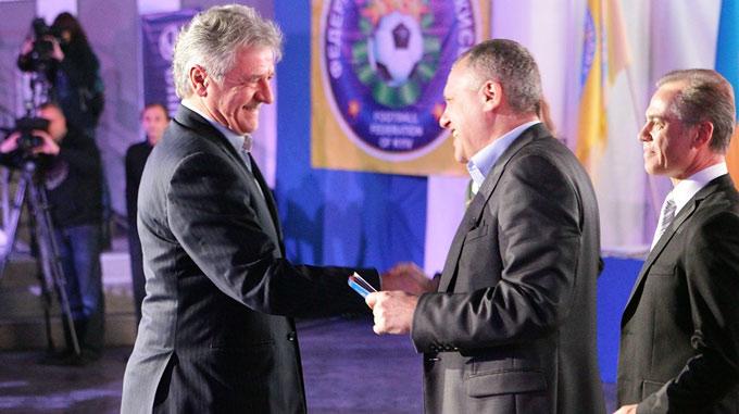Андрей Баль и Игорь Суркис