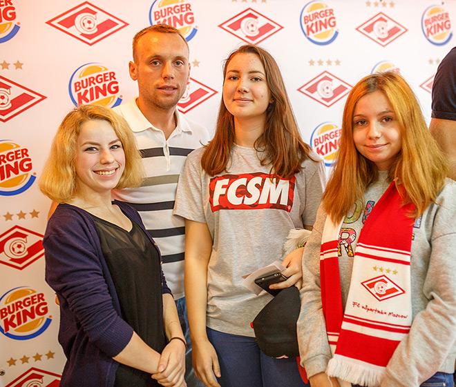 Денис Глушаков с воспитанниками детских домов