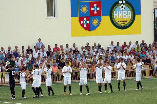Из-за финансовых проблем самобытная команда из Винницы осенью едва не снялась с первенства первой лиги