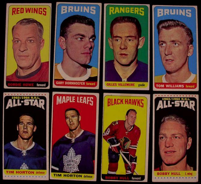 Хоккейные карточки. Фото 03.