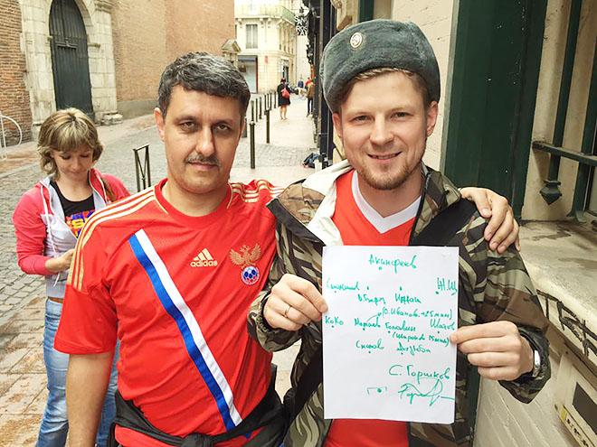 Сергей (справа)