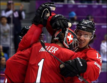 15 февраля 2014 года. Сочи. XXII зимние Олимпийские игры. Хоккей. Групповой этап. Швейцария — Чехия — 1:0