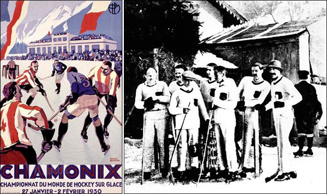 Хоккей. История чемпионатов мира. ЧМ-1930. Фото 01.