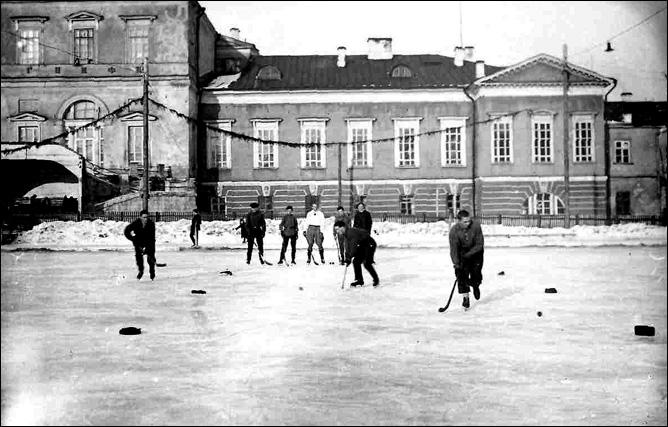 Хоккей. История чемпионатов мира. ЧМ-1930. Фото 02.