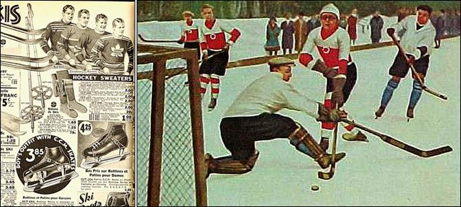 Хоккей. История чемпионатов мира. ЧМ-1930. Фото 03.