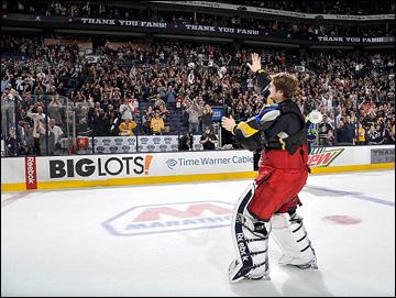 """Итоги сезона НХЛ. """"Коламбус Блю Джекетс"""". Сергей Бобровский"""