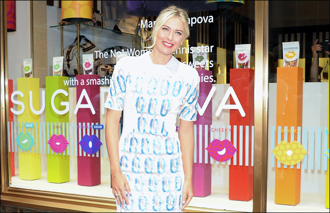 Мария Шарапова запустила бренд конфет под названием Sugarpova