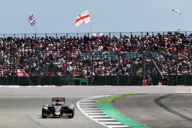 Формула-1. Даниил Квят на Гран-при Великобритании