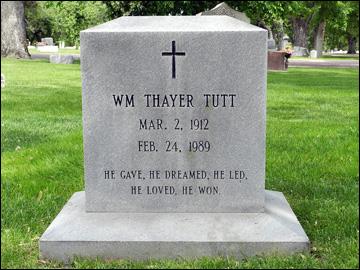"Могила Тайера Татта на кладбище ""Рон Вест"" в Колорадо"