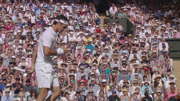 23 удара навылет и три ошибки — почти безупречный сет от Федерера.