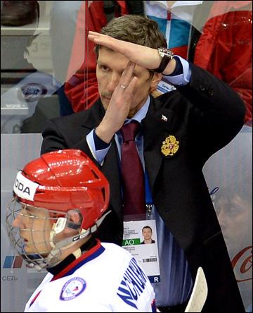 Главный тренер юниорской сборной России Игорь Кравчук