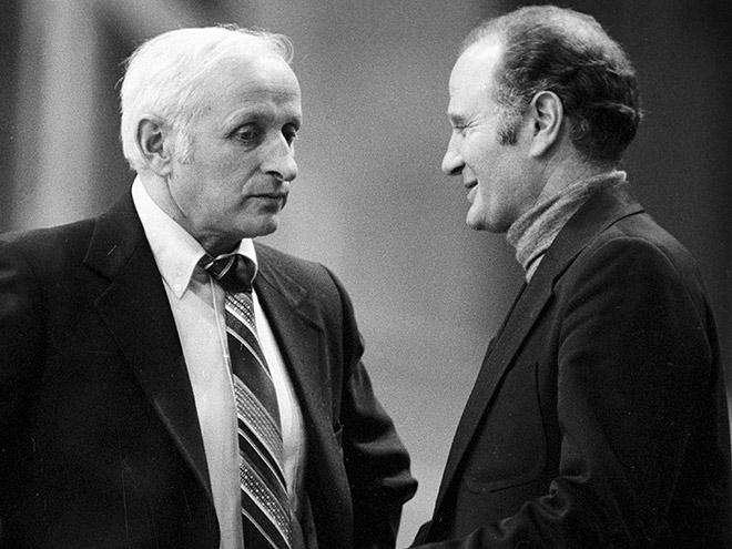 Александр (слева) и Евгений Гомельские
