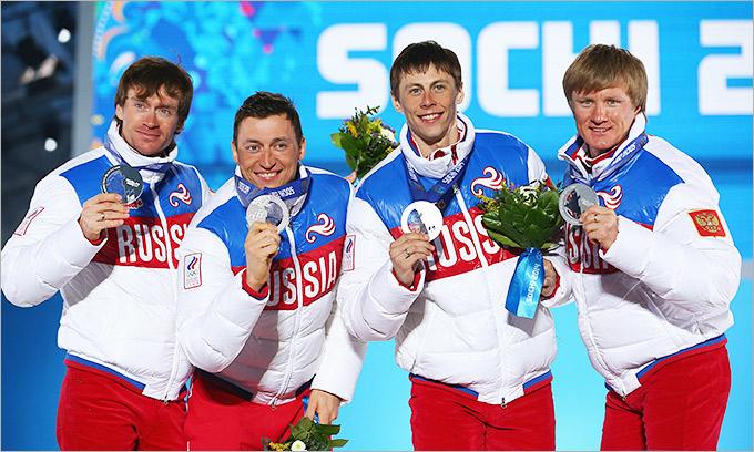 Серебряный подиум сборной России