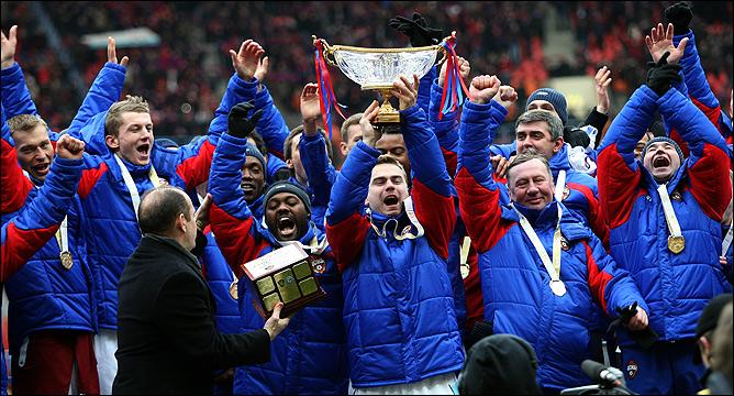 ЦСКА — обладатель Суперкубка-2009